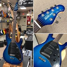 Ernie Ball Music Man Steve Morse w/Matching Head Stock-NEW Ernie Ball Music Man Steve Morse signature guitar w/Matching Head Stock from Authorized dealer based on Long Island NY.Guitar is stunning, - Best Guitar Site Online Signature Guitar, Long Island Ny, Cool Guitar, Anton, Renaissance, Bass, Rock, Beautiful, Guitars