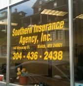 Southern Insurance Agency, Inc.- Insurance of all kinds. Serving WV and VA since 1947. Southern Insurance Agency is an independent agent representing numerous companies. We are members of the WV Independent Insurance Agents Association, Professional Insurance Agents, Trusted Choice, Greater Bluefield Chamber of Commerce and the McDowell County Chamber of Commerce. [Businesses - Insurance > Auto Insurance > Life] Welch, WV