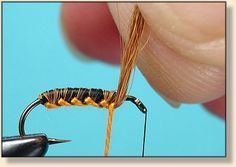 Woven Hackle Flies-Advanced Fly Tying - Fly Angler's OnLine