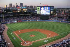Go to an Atlanta Braves game at Turner Field - Atlanta, GA Baseball Park, Braves Baseball, Baseball Field, Baseball Games, Football, Braves Game, Sports Stadium, Stadium Tour, Parks