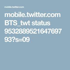 mobile.twitter.com BTS_twt status 953288952164769793?s=09
