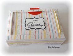 KayBeScraps: Workshop: Schoki-Karten-Box