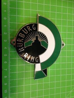 Huge nurburgring car badge nuerburgring porsche mercedes vw bmw ford rally