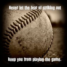 Baseball Quote Print-perfect for boys' room!