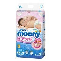 Moony Размер от 9-14кг (L) 54 бр