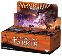 Magic The Gathering Dragons Of Tarkir Booster: If this were a different present, Tarkir would be in the clutches of five powerful khans. Deserts and forests would be rife with bloodshed. But this is not that present. This present is not for the khans. This present belongs to dragons.