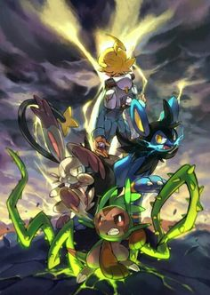 Chespin.. could that be... Frenzy plant?! AHH my favorite move! -Kristen