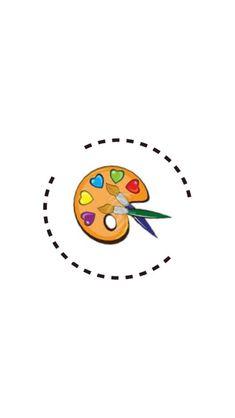 Instagram Logo, Instagram Feed, Black Wallpaper, Iphone Wallpaper, Acrylic Paint Brushes, Insta Icon, Instagram Highlight Icons, Flower Frame, Art Logo
