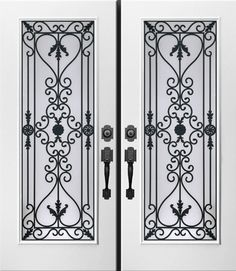 Wrought Iron Inserts-Catalogue - ATM Glass Inserts Stained Glass & Wrought Iron Inserts