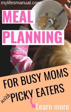 Planning for Busy Moms With Picky Eaters Kids. Save money and time while feeding your family healthy food. Learn more about the Meal Planning for Busy moms with Picky eaters ebook + printables. Meal Planning Binder, Menu Planning Printable, Weekly Meal Plan Template, Budget Meal Planning, Meal Planner, Budget Meals, Printables, Food Budget, Financial Planning