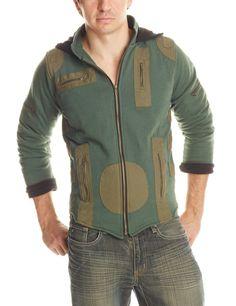 Men's Multi-Zip Jacket MR414 (hoodie, festival jacket, cyberpunk, mad max, post apoocalyptic, industrial, folklore)