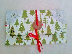 Baranova / vianočná darčeková obálka