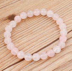 Pink Light Beaded Bracelet