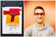 Viefe's identity designer Toni Font. Diseñador de la identidad de Viefe, Toni Font.