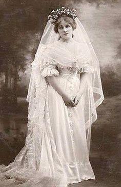 Sad bride !