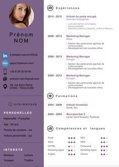 CV Creatif - Recherche Google