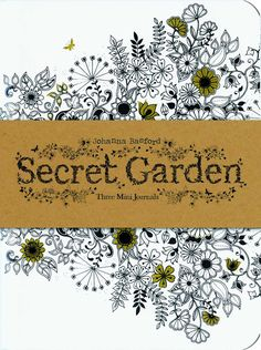 Secret Garden Three Mini Journals Johanna Basford 9781856699488 Amazon
