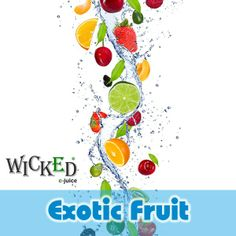 Explore your more exotic side and try out Exotic Fruit E Juice. With a fresh fruity taste sensation our exotic fruit flavored e juice will tingle your tastebuds. Exotic Fruit, Wicked, Juice, Blog, Stuffed Peppers, Ethnic Recipes, Fresh, Explore, Products