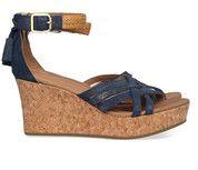 Blauwe Ugg schoenen Lillie sandalen