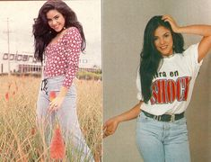 Throwback: Shakira with dark hair in the 90's