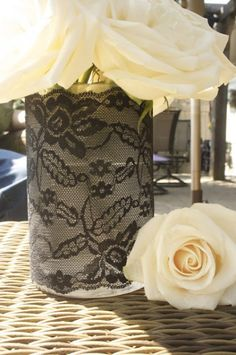 lace-covered-vase