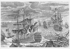 The Scilly naval disaster of 1707 is an umbrella term for the events of 22 October 1707 that led to the sinking of a British naval fleet off the Isles of Scilly. With four large ships and more than 1,400 sailors lost in stormy weather, it was one of the worst maritime disasters in the history of the British Isles. It was later determined that the main cause of the disaster was the navigators' inability to accurately calculate their positions.