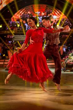 Big weekend: Alexandra competed in Saturday night's Strictly Come Dancing final with dance. All About Dance, Just Dance, Strictly Come Dancing 2016, Gorka Marquez, Alexandra Burke, Professional Dancers, Ballroom Dance, Dance Outfits, Finals