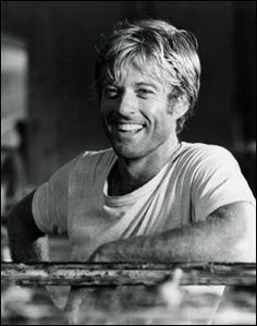 Robert Redford even as he gets older, the hair is still messy, he face a bit more craggy, but a beautiful man.