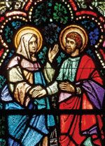 Saints Monica and Augustine