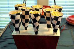 Race Car Themed Birthday Party: