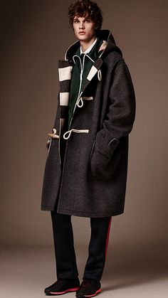 Mid grey The Duffle Coat - Image 1
