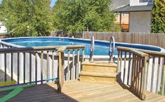 Get Influenced: Above-Ground Pool Concepts Swimming Pool Prices, Above Ground Swimming Pools, Above Ground Pool, In Ground Pools, Blue Haven Pools, Pool Kits, Backyard Pool Landscaping, Concrete Pool, Fiberglass Pools