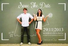 """A ideia norte-americana do """"pré-convite"""" de casamento, o conhecido Save The Date, tem sido um sucesso!"""