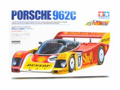 Porsche 962C Shell Dunlop Tamiya 24233 1/24 New Plastic Model Kit Race Cars