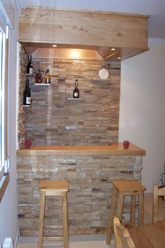 1000 images about bares modernos para casas on pinterest for Bar de madera para casa