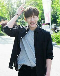 His smile is so contagious  my one and only JCW