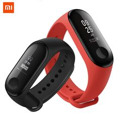 Mi barnd 3 helps you record all your activities in the day calculate the distance you walk and burned, take car of your health, monitor your sleep, remind you, mileage calories for hige quality sports #samsung #android #for men iphone #design Fitness Tracker Bracelet, Bluetooth, Fitness Watch, Fitness Band, Smart Bracelet, Heart Rate Monitor, Smart Watch, Display, The Originals