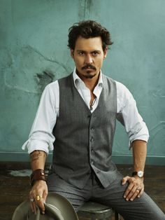 Johnny Depp, another extremely talented actor and easy on the eyes! <3