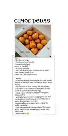 Indonesian Desserts, Asian Desserts, Indonesian Food, Breakfast Recipes, Snack Recipes, Cooking Recipes, Indian Pickle Recipe, Chinese Chicken Recipes, Drumstick Recipes