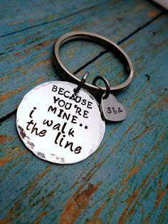 Because You're Mine I Walk The Line Johnny by HandmadeLoveStories