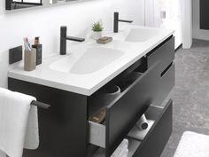 Loft meubelset - X2O De voordeligste badkamer specialist Lofts, Sink, House Ideas, Bathroom, Modern, Home Decor, Home Ideas, Loft Room, Sink Tops