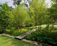 Creative DIY Rain Garden Steps And Plants Ideas - Onechitecture Landscape Plans, Landscape Architecture, Landscape Design, Architecture Design, Design Architect, Garden Steps, Garden Paths, Bog Garden, Garden Villa