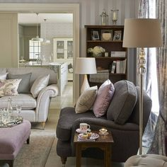 Beautiful Baroque: Filled with gorgeous silver, grey and lilac shades, this…