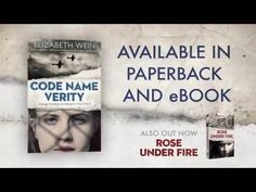 ▶ CODE NAME VERITY BY ELIZABETH WEIN (OFFICIAL UK BOOK TRAILER) - YouTube