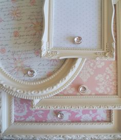 Shabby Chic  Magnetic Boards.