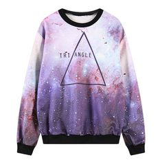 Style:harajuku japanese,japanese galaxy,galaxy sweater,harajuku sweatshirt Color:purple Size:one size Bust:107cm/42.12 Length:65cm/25.59 Sleeve length:59cm/23.22 Shoulder:45cm/17.71  Tips: *Please double check above size and consider your measurements before ordering,thank you ^_^  Visitin
