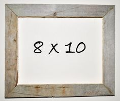 8 x 10 Driftwood Picture Frame 063 by DriftwoodMemories on Etsy, $27.50