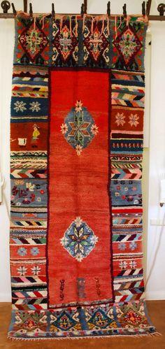 Vintage Moroccan Carpet 2571 at Red Thread Souk