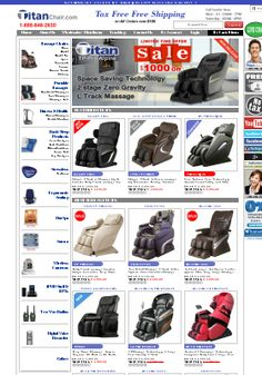 "Welcome to ""Taitanchair"" a universally leader of excellent and high quality massage chairs and provided tax free delivery.  #Massage_Chairs #Massage_Chair"