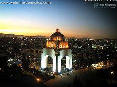 Atardecer en la Ciudad de Mexico...